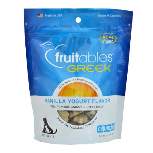 Fruitables Greek Vanilla Yogurt Dog Treats