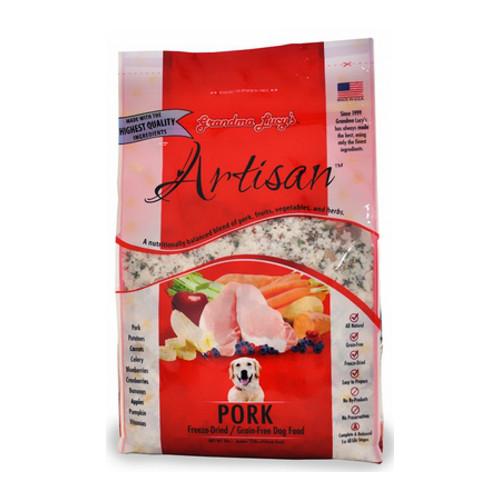 Grandma Lucy's Freeze-Dried Grain-Free Artisan Pork Dog Food