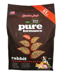 Grandma Lucy's Pureformance Grain-Free Rabbit Freeze-Dried Dog Food