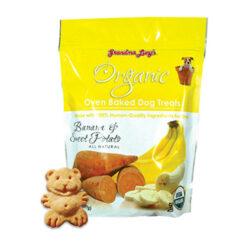 Grandma Lucy's Organic Banana & Sweet Potato Oven Baked Dog Treats