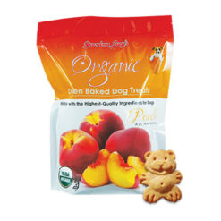 Grandma Lucy's Organic Peach Oven Baked Dog Treats