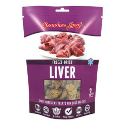 Grandma Lucy's Freeze-Dried Singles Liver Dog & Cat Treats
