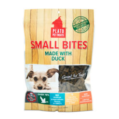 Plato Small Bites Slow Roasted Duck Dog Treats