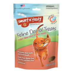 Emerald Smart n' Tasty Feline Dental Treats with Salmon Cat Treats