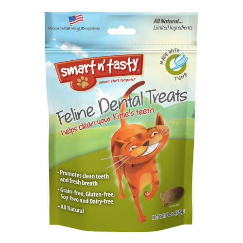 Emerald Smart n' Tasty Feline Dental Treats with Tuna Cat Treats