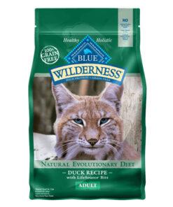 Blue Buffalo Wilderness Duck Recipe Grain-Free Dry Cat Food