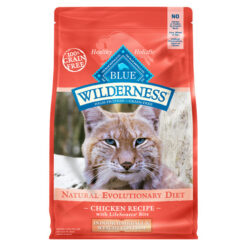 Blue Buffalo Wilderness Indoor Hairball & Weight Control Chicken Recipe Grain-Free Dry Cat Food