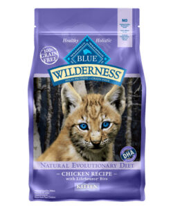 Blue Buffalo Wilderness Kitten Chicken Recipe Grain-Free Dry Cat Food