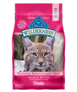 Blue Buffalo Wilderness Salmon Recipe Grain-Free Dry Cat Food