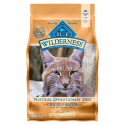 Blue Buffalo Wilderness Weight Control Chicken Recipe Grain-Free Dry Cat Food