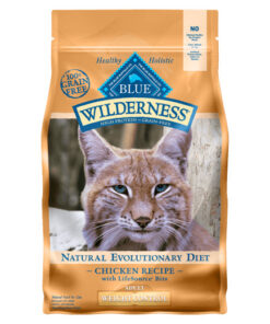 Blue Buffalo Wilderness Weight Control Chicken Recipe Grain-Free Dry Cat Food