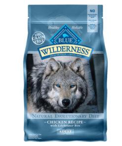 Blue Buffalo Wilderness Chicken Recipe Grain-Free Dry Dog Food