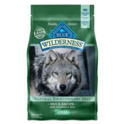Blue Buffalo Wilderness Duck Recipe Grain-Free Dry Dog Food