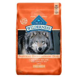 Blue Buffalo Wilderness Large Breed Chicken Recipe Grain-Free Dry Dog Food