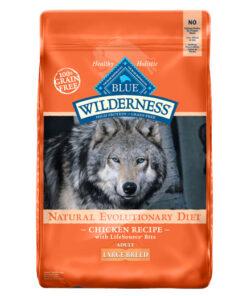 Blue Buffalo Wilderness Large Breed Chicken Recipe Grain-Free Dry Dog Food