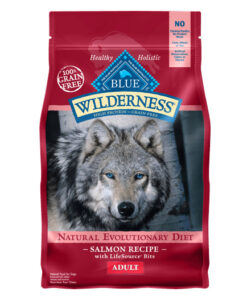 Autoship & Save - 5% off every autoship order Blue Buffalo Wilderness Salmon Recipe Grain-Free Dry Dog Food