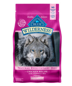 Blue Buffalo Wilderness Small Breed Chicken Recipe Grain-Free Dry Dog Food