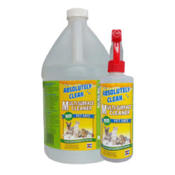 Absolutely Clean Pet Friendly Multi-Surface Home Cleaner