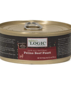 Nature's Logic Feline Beef Feast Canned Cat Food