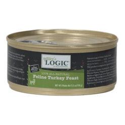 Nature's Logic Feline Turkey Feast Canned Cat Food