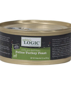 Nature's Logic Feline Turkey Feast Canned Cat Food