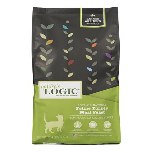 Nature's Logic Feline Turkey Meal Feast Dry Cat Food