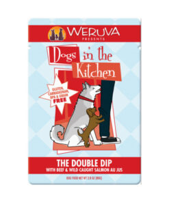 Weruva Dogs in the Kitchen The Double Dip Dog Food Pouches