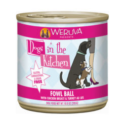 Weruva Dogs in the Kitchen Fowl Ball Canned Dog Food