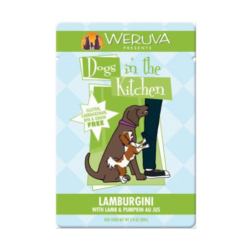 Weruva Dogs in the Kitchen Lamburgini Dog Food Pouches