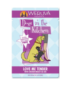 Weruva Dogs in the Kitchen Love Me Tender Dog Food Pouches