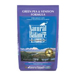 Natural Balance Green Pea & Venison Formula Dry Cat Food