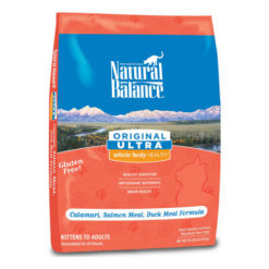 Natural Balance Original Ultra Whole Body Health Calamari, Salmon Meal & Duck Meal Formula Dry Cat Food