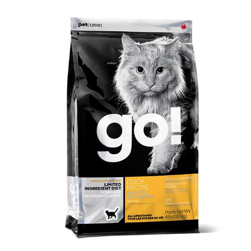 Go! Sensitivity + Shine Limited Ingredient Diet Duck Recipe Grain-Free Dry Cat Food