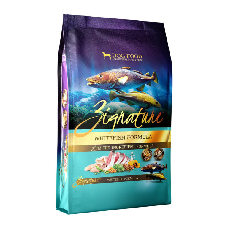 Zignature Whitefish Limited Ingredient Formula Grain-Free Dry Dog Food