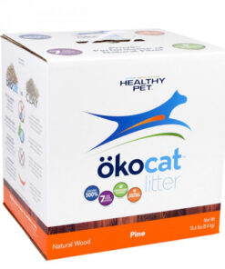 Okocat Natural Wood Pine Cat Litter