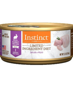 Nature's Variety Instinct Grain-Free Limited Ingredient Diet Rabbit Recipe Canned Cat Food