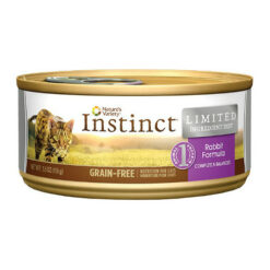Nature's Variety Instinct Grain-Free Limited Ingredient Diet Rabbit Formula Canned Cat Food