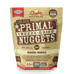 Primal Venison Formula Freeze-Dried Cat Food