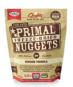 Primal Venison Formula Freeze-Dried Cat Food