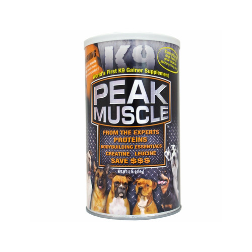 Animal Naturals K9 Peak Muscle Supplement