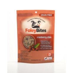 FoleyBites Oven Baked Healthy Dog Treats Cranberry Chia