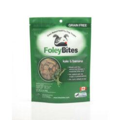 FoleyBites Oven Baked Healthy Dog Treats Kale & Banana