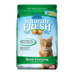 Blue Buffalo Naturally Fresh Walnut-Based Quick-Clumping Cat Litter