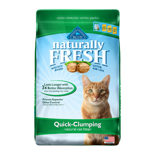 Blue Buffalo Naturally Fresh Walnut-Based Quick-Clumping Cat Litter