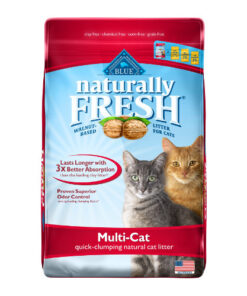 Blue Buffalo Naturally Fresh Walnut-Based Multi-Cat Quick-Clumping Cat Litter