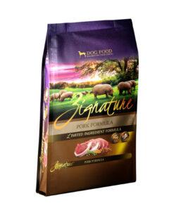 Zignature Pork Limited Ingredient Formula Grain Free Dry Dog Food