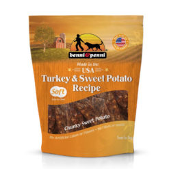 Benni & Penni Turkey & Sweet Potato Dog Treat