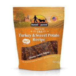 Benni & Penni Turkey & Sweet Potato Dog Treat