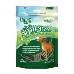 Emerald Pet Fresh Smileezz Grain Free Dog Dental Chews