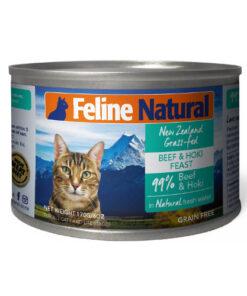K9 Feline Natural Beef and Hoki Feast Grain Free Canned Cat Food